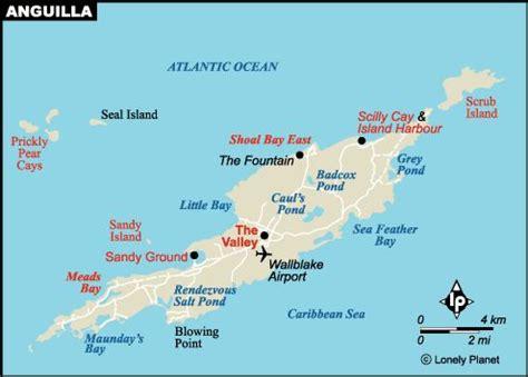 anguilla map map of anguilla caribbean bermuda maps