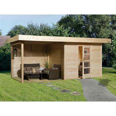 solde abri de jardin bois abri de jardin en bois quot lounge 3 quot 233 paisseur 28 mm porte simple appentis 300 cm abri de