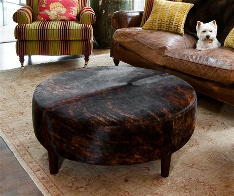 Cowhide Ottoman For Sale - 21 best cowhide ottomans images on cowhide
