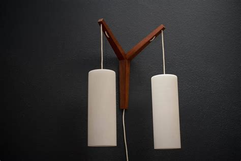 Scandinavian Lighting Fixtures Scandinavian Teak Pendant Fixture For Sale At 1stdibs