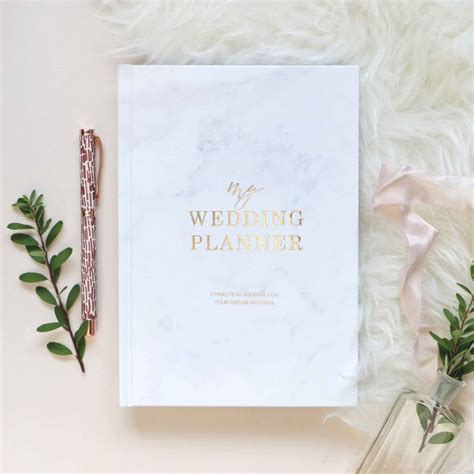 Wedding Planner Images by Marble And Gold Foil Wedding Planner By Blush And Gold