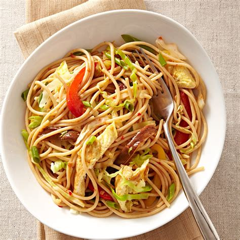 chile lime veggie noodles recipe eatingwell