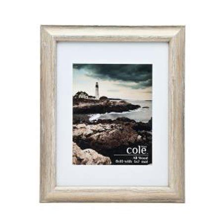 10 X 10 Wood Picture Frame W Mat by 8x10 5x7 Distressed Beige Light Wood Photo Picture Frame