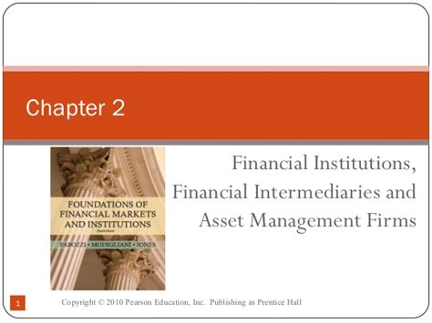 Asset Management Search Firms Chapter 2 Financial Institutions Financial Intermediaries And Asset