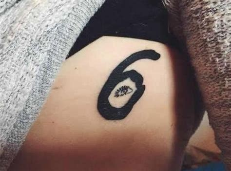 ovo tattoo this 6 god takes inspiration from the cover for