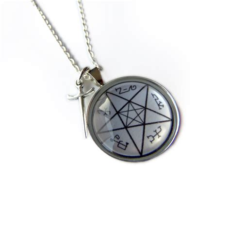 supernatural jewelry s trap necklace geeky mcfangirl