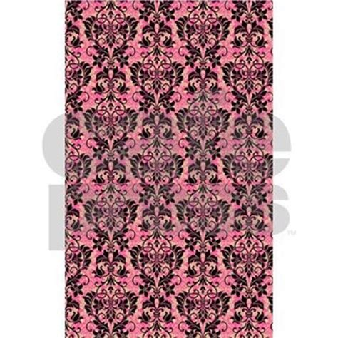 pink and black rugs pink and black damask 3 x5 area rug by glamourgirls2