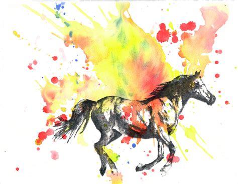 animal watercolor painting original watercolor by