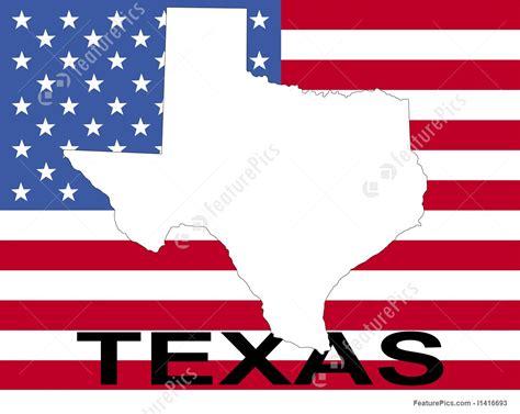 texas  flag stock illustration   featurepics