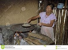 Portrait Of Indoor Cooking Guatemalan Woman Editorial ... Firewood Prices