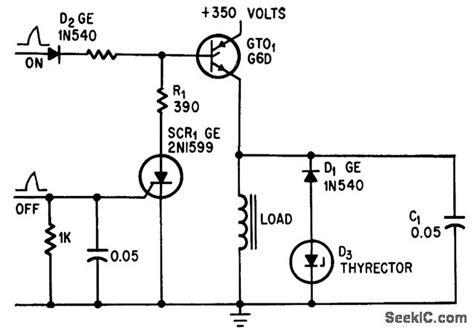 Hammer Driver For Computer Line Printer Amplifier