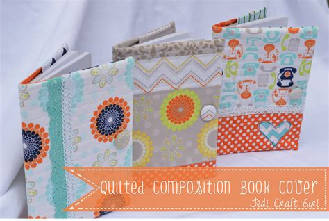 pattern for quilted notebook cover quilted composition book cover