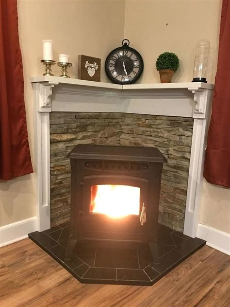 wood hearth pellet stove wooden mantle best for wood stove