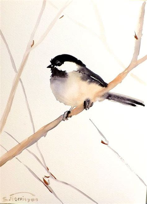 watercolor tutorial chickadee 17 best images about watercolor painting on pinterest
