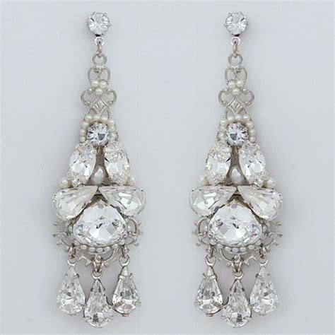 Chandelier Earing Jayne Bridal Jewelry Wedding Earrings Bridal Chandelier Earrings
