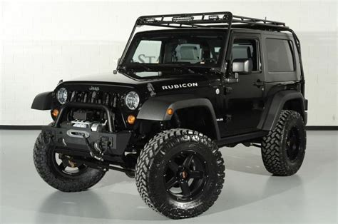 Rubicon Roof Rack by 2010 Jeep Wrangler Rubicon With Gobi Roof Rack Front Left