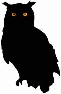 silhouette of screech owl clipart best