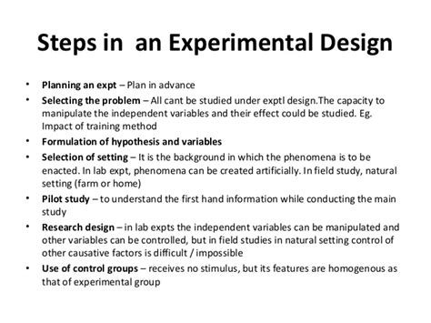 contest design an experimental investigation experimental design steps home design ideas