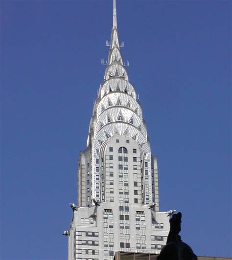 Chrysler Building by File Chrysler Building Top Jpg