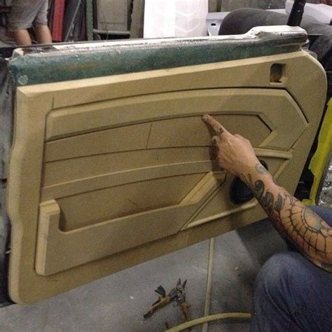 Interior Car Door Panels 436 Best Kustom Auto Interiors Images On