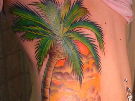 palm tree sunset tattoo designs 30 sunset view palm tree tattoos