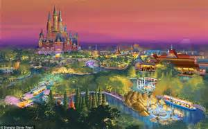 disney shanghai disney to open shanghai theme park in june 2016 daily