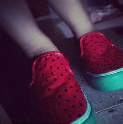 diy watermelon shoes diy watermelon vans shoes reved nails