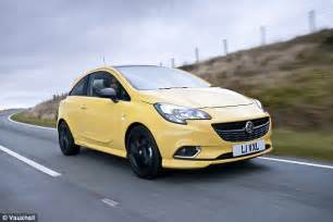 Vauxhall Paint Vauxhall Names Yellow Paint Maddox After Car Colour Victim