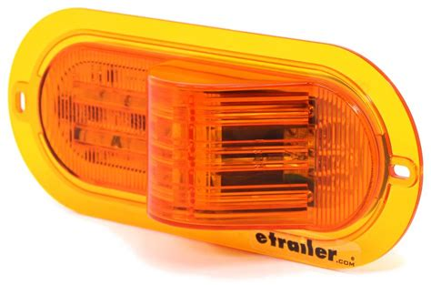 troubleshooting trailer lights turn signal amber led mid ship turn signal amber flange mount