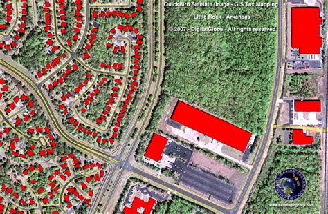 gis tax mapping satellite imaging corp