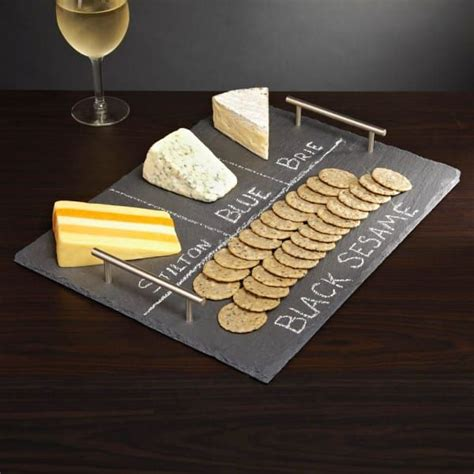 diy chalkboard cheese tray how to make an easy and adorable chalkboard cheese plate