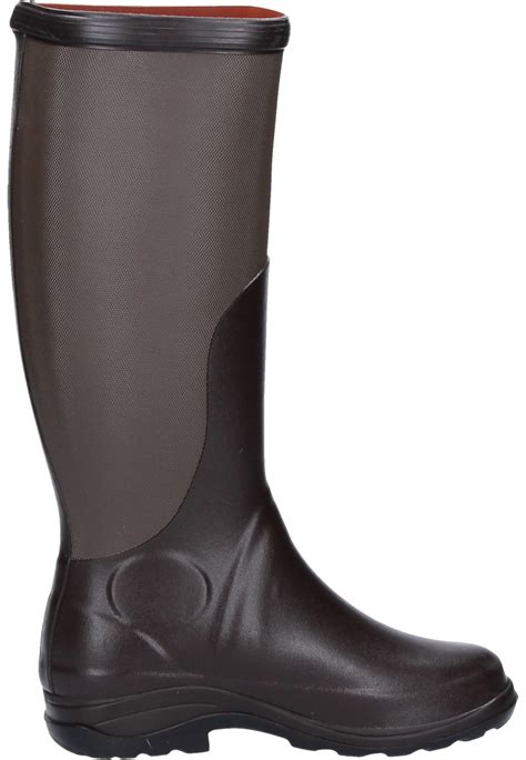 Blackmaster King High Boot Size 39 44 aigle rboot brown taupe rubber boots high