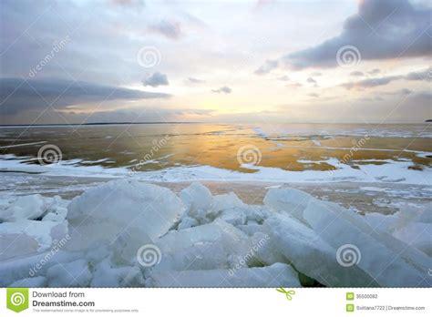 the winter sea winter sea stock photography image 35500082