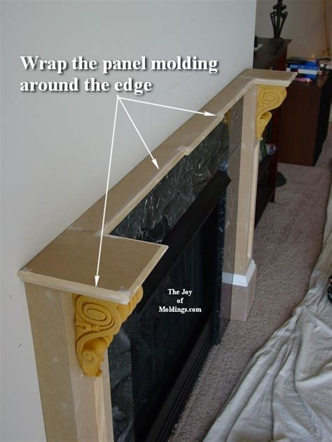 how to build fireplace mantel 102 part 3 make the collar