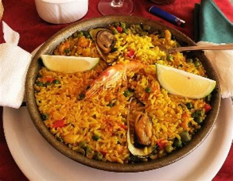 island cuisine canary islands traditional meal paella travel canary