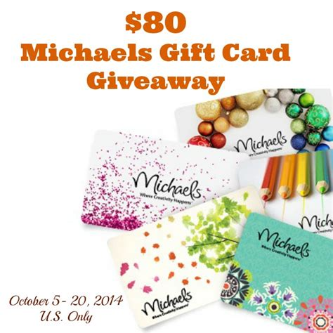 Michaels Crafts Gift Card - 80 michaels gift card giveaway petals to picots
