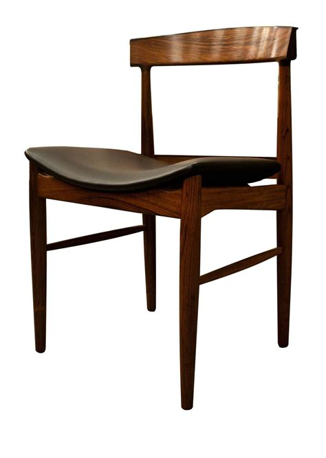 Modern Dining Table And 6 Chairs Mid Century Modern Design Rosewood Dining Table And Six Chairs At 1stdibs