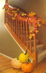 Fall Home Decorations 30 Cozy Fall Staircase D 233 Cor Ideas Digsdigs