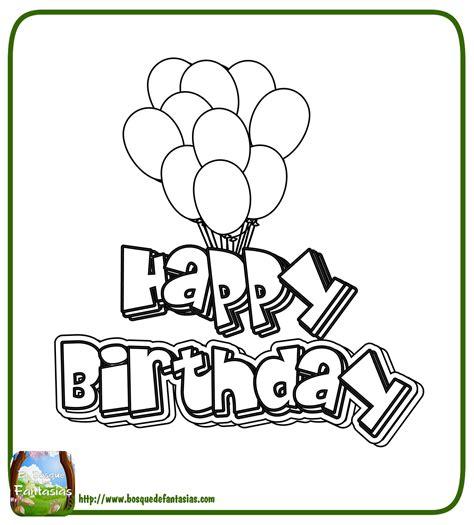 imagenes de cumpleaños para colorear e imprimir 99 dibujos de feliz cumplea 209 os 174 tarjetas para colorear y