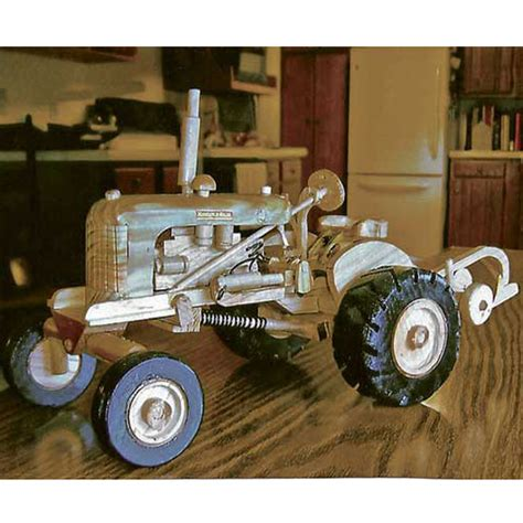 woodworking models woodworking hobbyist carves models of farm machinery