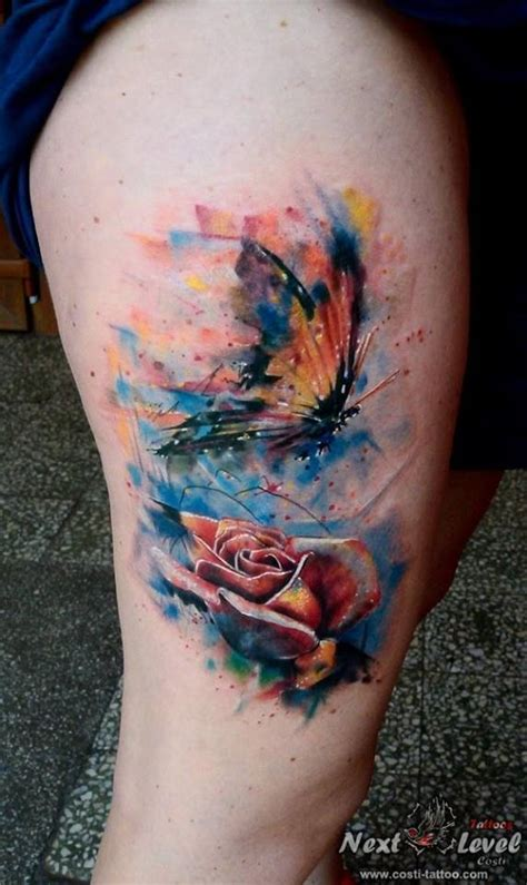 watercolor tattoo karlsruhe costi azoitei certified artist