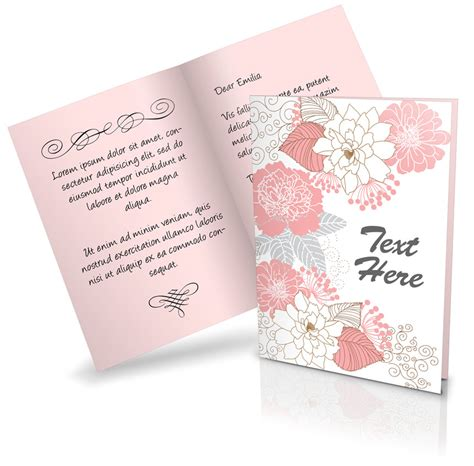 free card templates layeredfor photoshop greeting card photoshop templates 5x7 front back