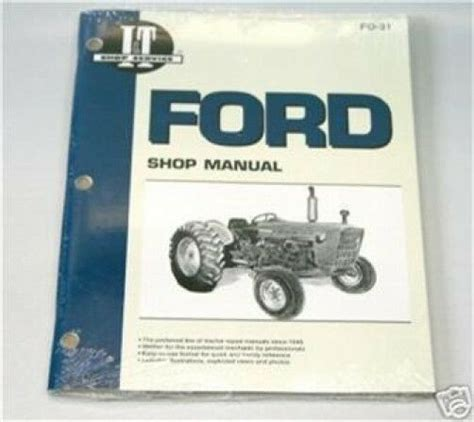 Ford 2000 3000 4000 3 Cyl 1965 1975 Tractor I Amp T Shop
