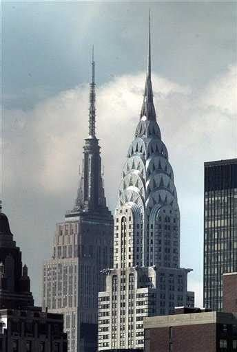 chrysler building year built 뉴욕의 상징 엠파이어스테이트빌딩