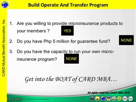 Transfer Mba Programs by Microinsurance The Current And Challenges A Card Mba