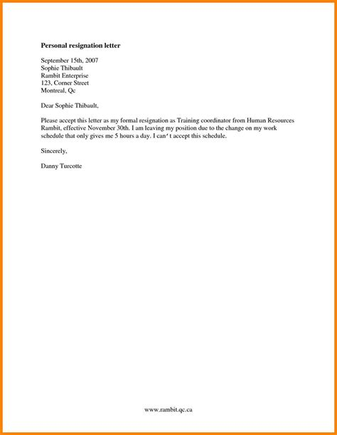 Exle Resignation Letter When Leaving On Bad Terms 5 Resignation Letter Exles Hvac Resumed
