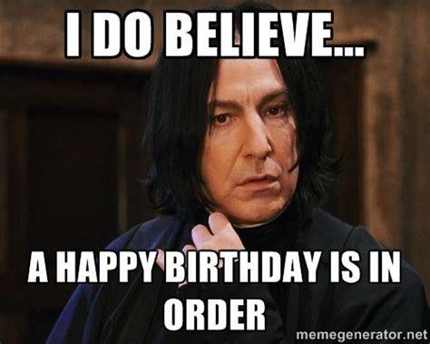 Harry Potter Happy Birthday Meme - 25 snape memes in honor of alan rickman refinery29 http www refinery29 com 2016 01 100213
