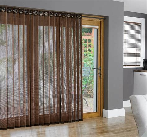 bamboo blinds for sliding glass doors bamboo grommet top panels for sliding glass doors and