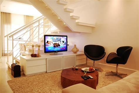 Living Room Stairs Ideas by 14 Neutral Living Room Modern Staircase Interior Design