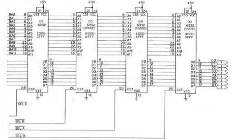 rom circuit diagram rom expansion for the commodore pet